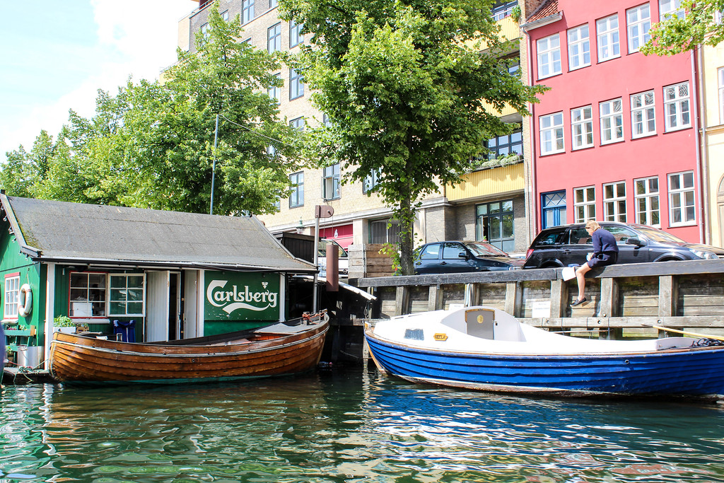 Take a canal trip in on your Copenhagen vacation