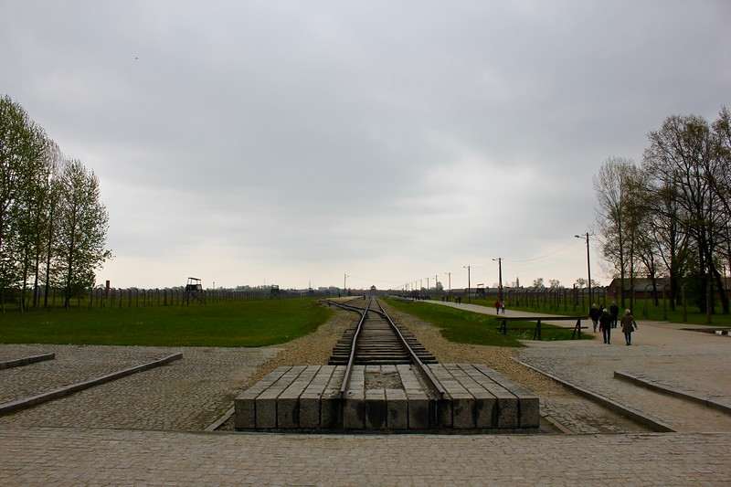 railroad at Birkenau