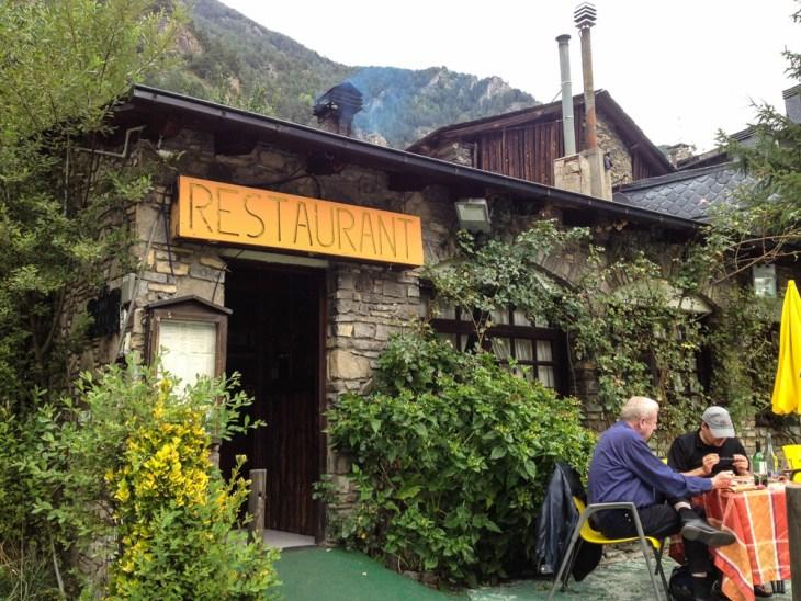 Front of Restaurant l'Hort de Casa in Erts, Andorra