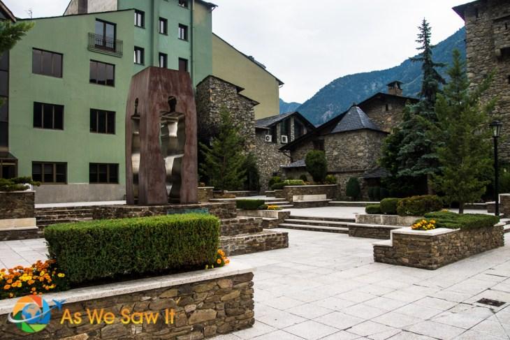 Town hall square Andorra la Vella