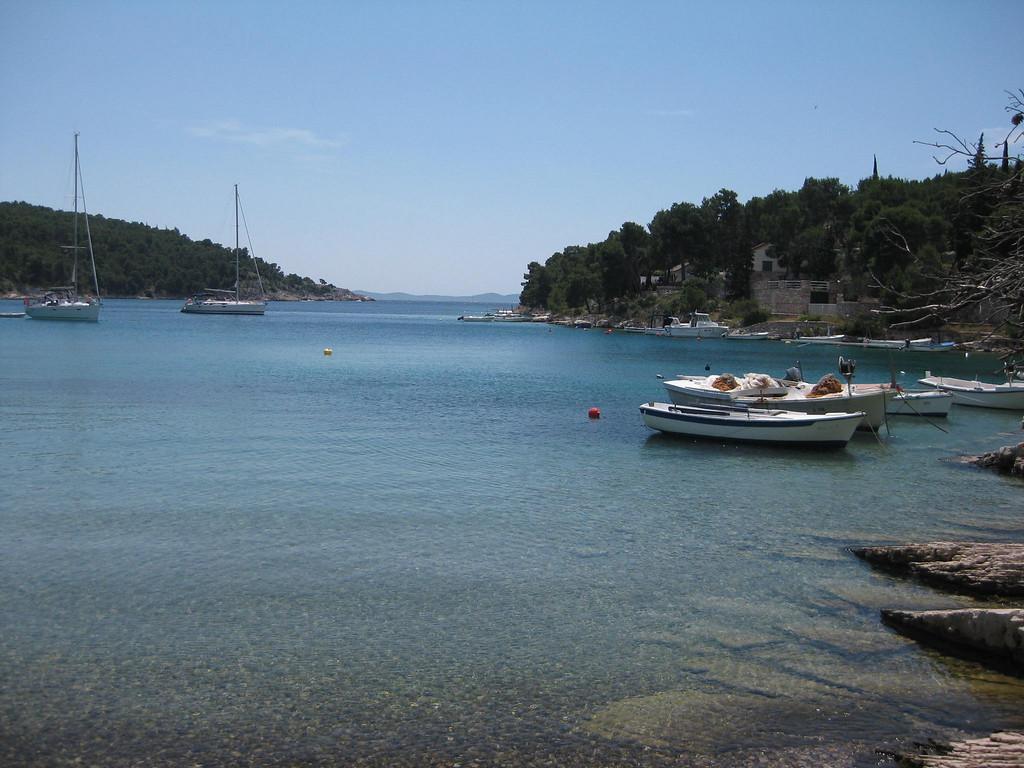 beach on brac island