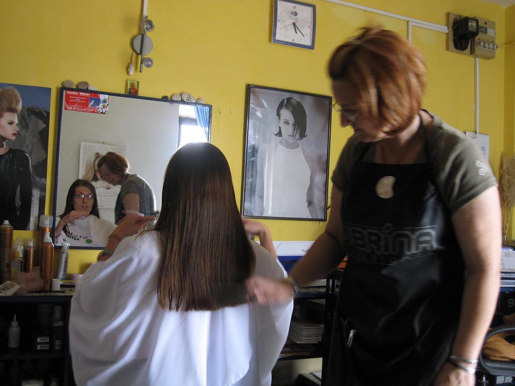 Magda hair stylist milna croatia