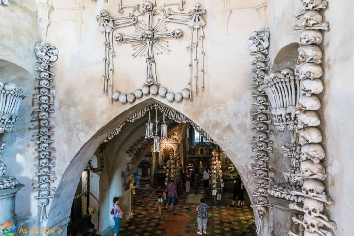 Sedlec Ossuary entranceway