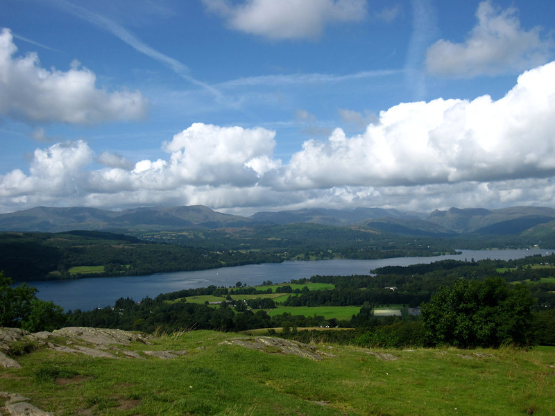 Walking the Lake District in England from Windermere