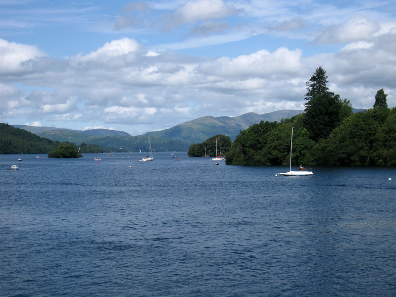 boats on Lake Windermere