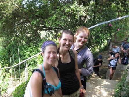 hiking to Monterosso