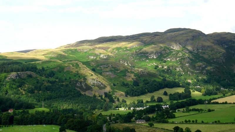 countryside walks around Stirling, Scotland