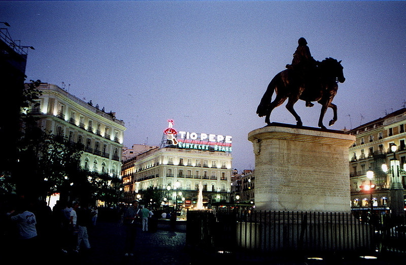 Plaza del Sol, Madrid, Spain