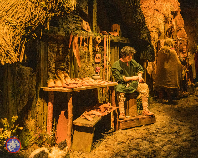 The Shoemaker Plying His Trade - Displayed at the JORVIK Viking Center in York (©simon@myeclecticimages.com)