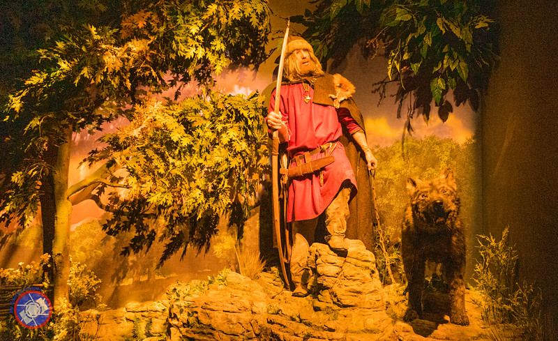 A Hunter with His Dog - One of the Displays at the JORVIK Viking Center in York (©simon@myeclecticimages.com)