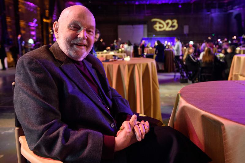 Disney Legend and master animator Burny Mattinson at D23's<br /> 10-Year FAN-niversary Celebration at the Walt Disney Studios, March 10,<br /> 2019.