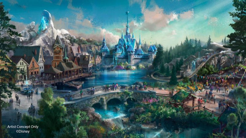 frozen land hong kong disneyland