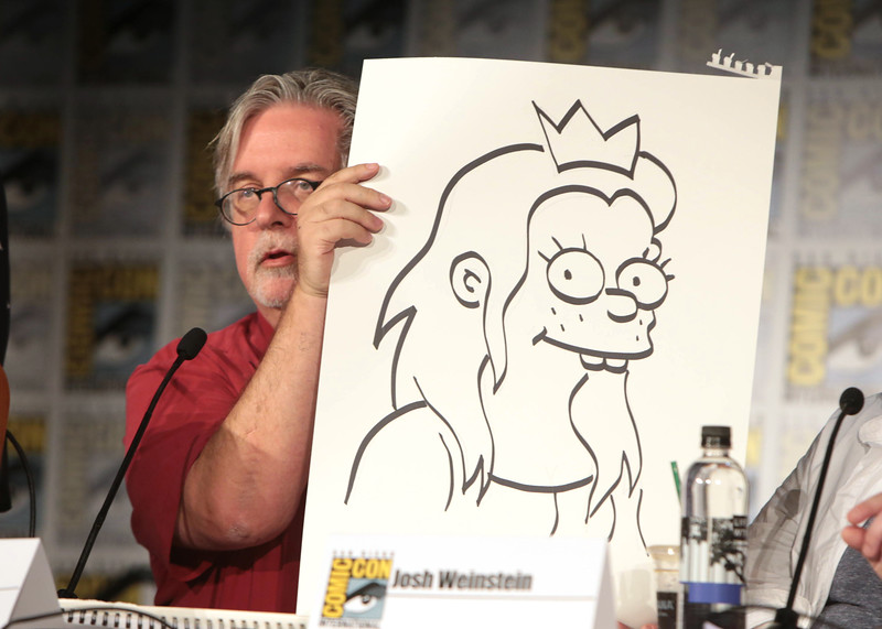 "Netflix presents it's upcoming series ""Disenchantment"" at Comic Con 2018, San Diego, USA - 21 July 2018"