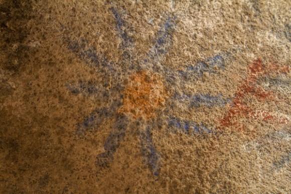 Blue Sun Pictograph Cave