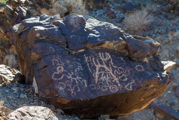 Mule Tank Petroglyphs