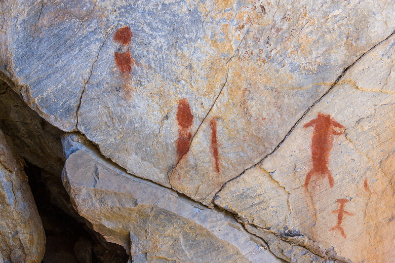 Wildrose Pictographs