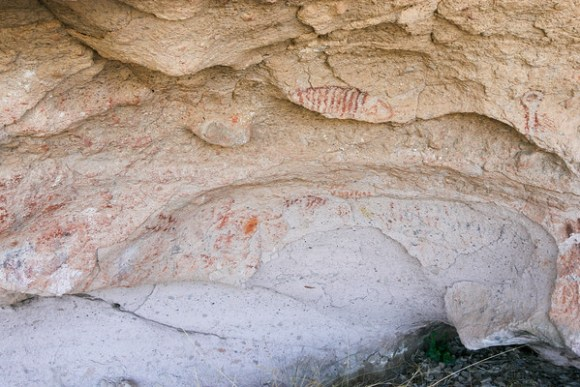 Greenwater Canyon Pictographs