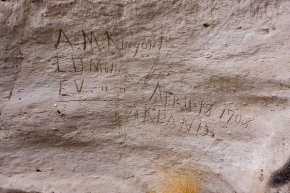 """Inscription Fork"" of Lemoigne Canyon"