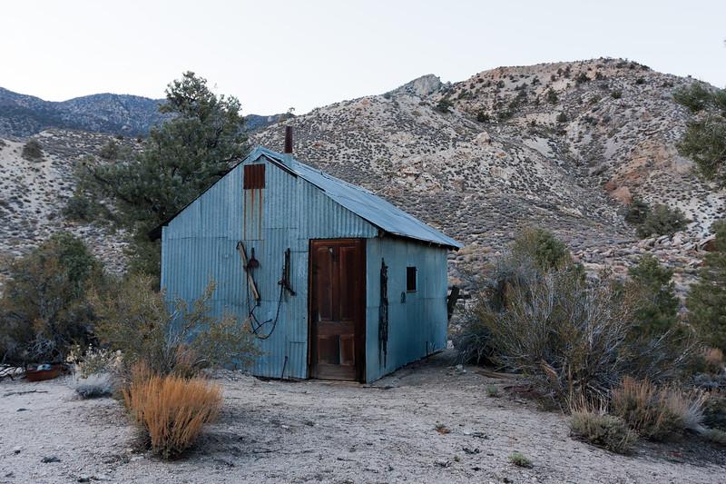 """Mule Tack"" Mine Cabin"