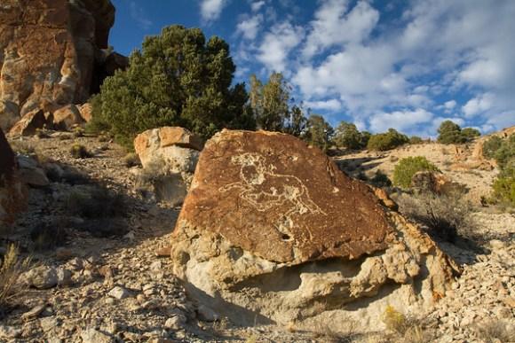 Bald Mountain Wash Petroglyphs