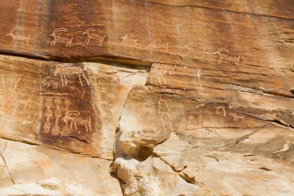21 Goats petroglyphs