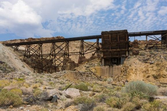 Nivloc mine trestle