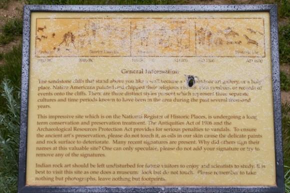 Thompson Canyon pictographs
