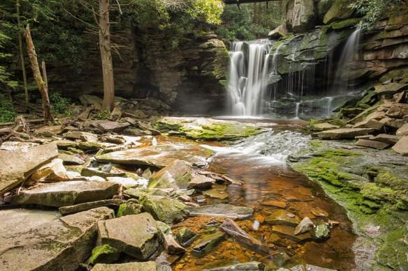 Elakala Falls - Upper Falls