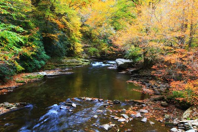 Deep Creek in the Fall