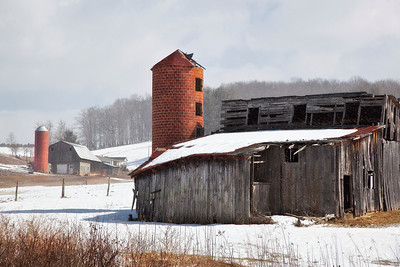 Barns in Winter