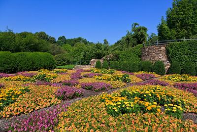 Quilt Garden at North Carolina Arboretum