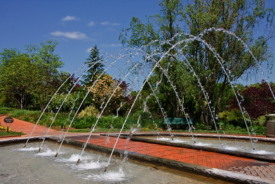 The Arch Fountain at Daniel Stowe