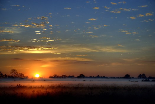 Sunrise in Alvin