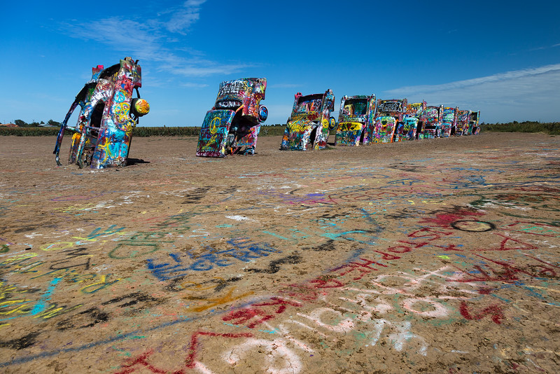 The Cadillac Ranch, by Tim Stanley