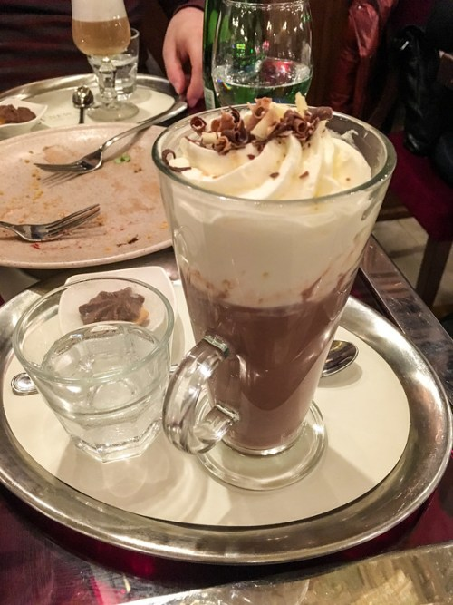 don't forget the best time to travel to Budapest includes coffee and chocolate
