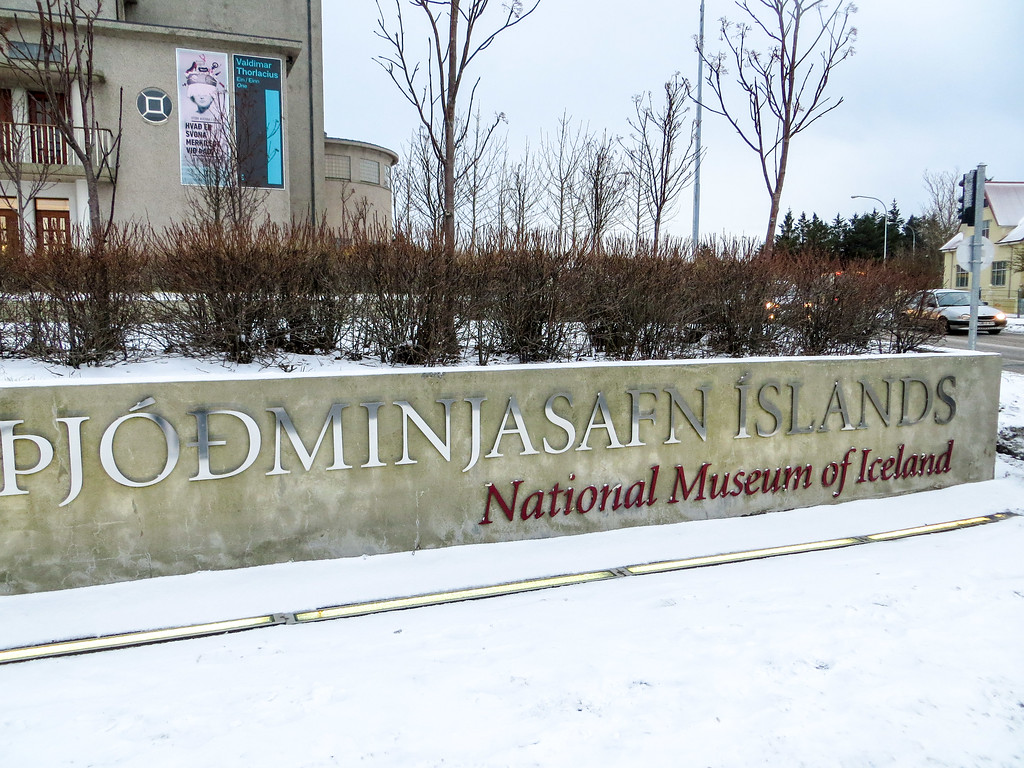 new years eve in iceland at a museum