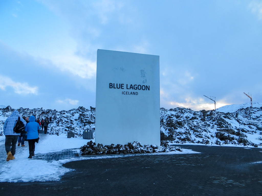 Seeing the Blue Lagoon in winter is spectacular!