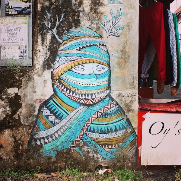 India Koochi street art