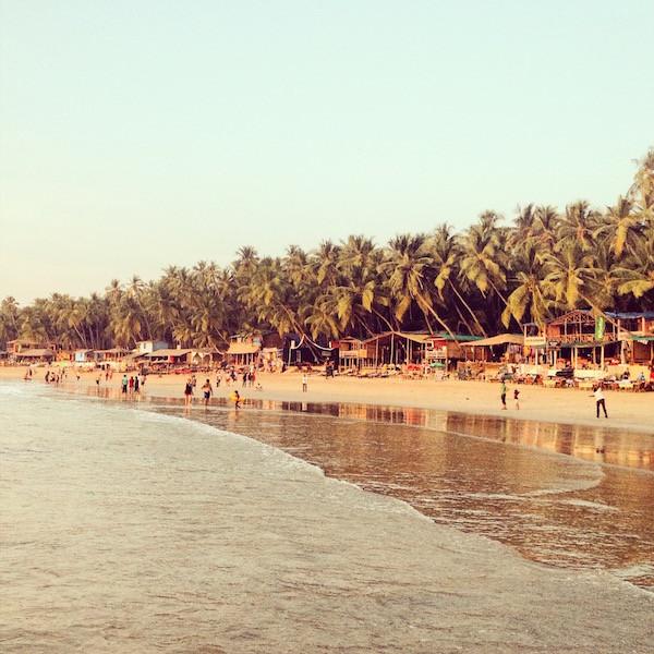 India Goa beach