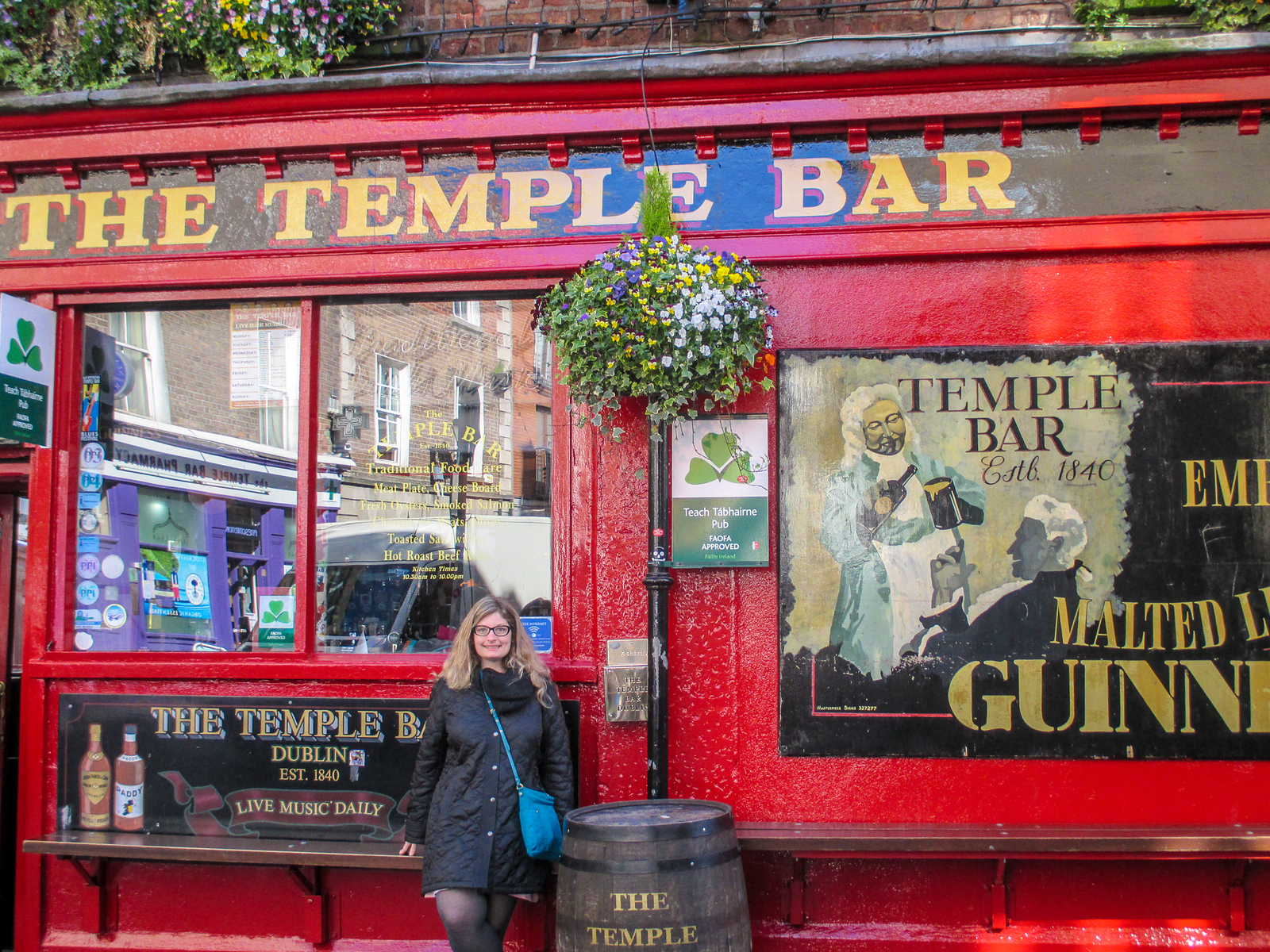don't skip temple bar with Seven Days in Ireland