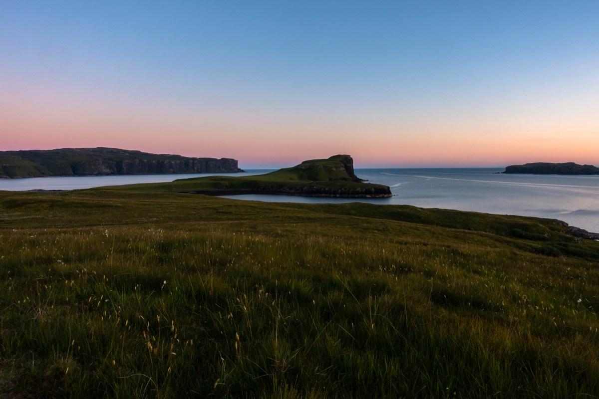 Sunset Atop Oronsay - Isle of Skye