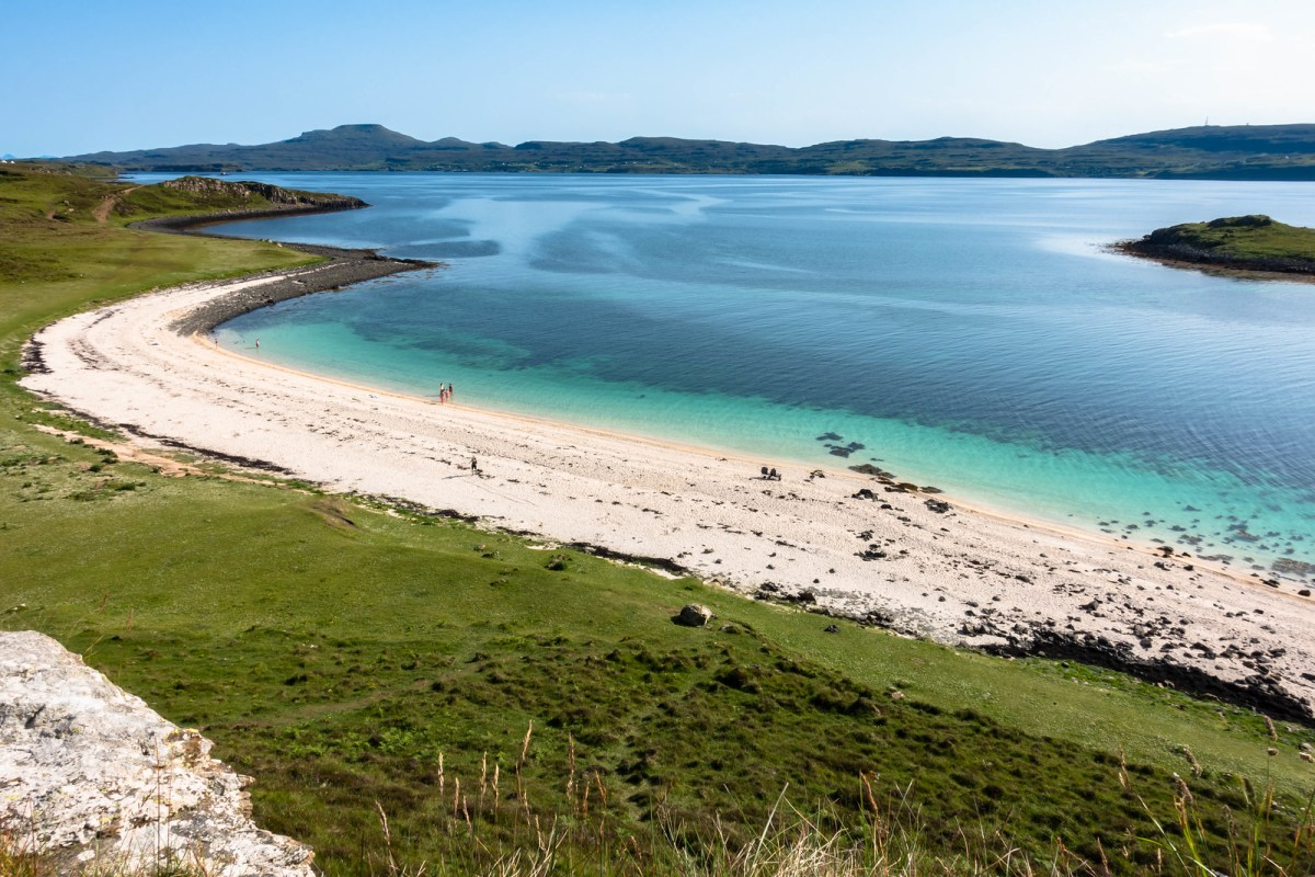 Things to do on the Isle of Skye - Spend a Day at Coral Beach.