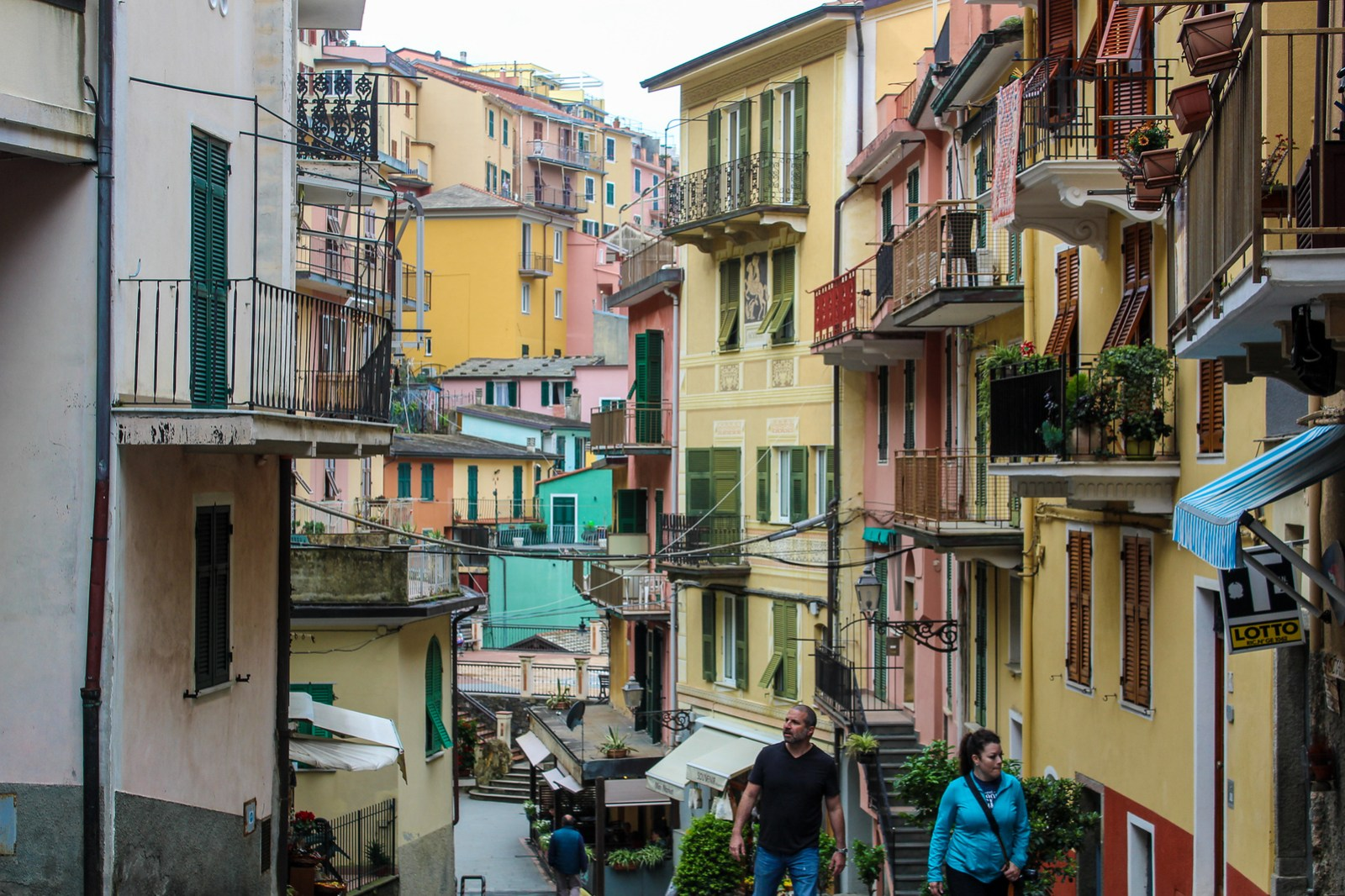 not matter which village to stay in cinque terre you'll have charming streets