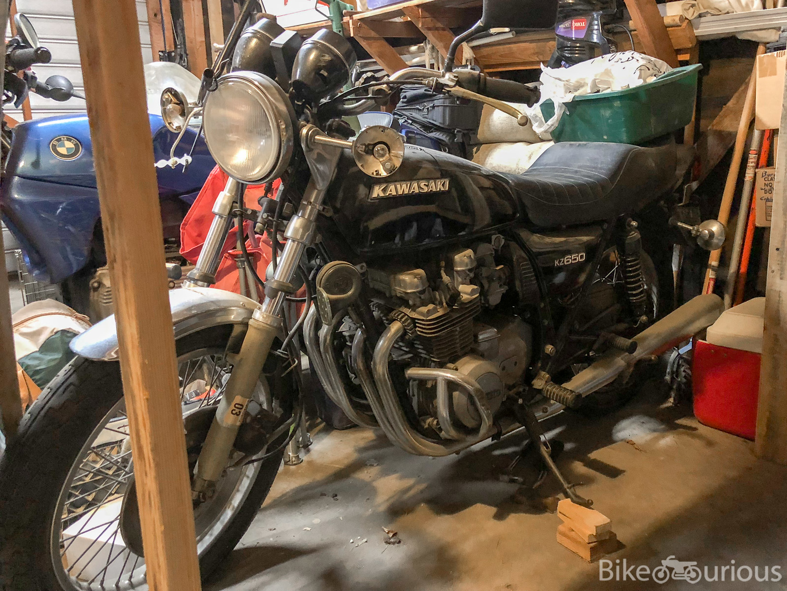 Adding to the Stable – 1978 Kawasaki KZ650 Project