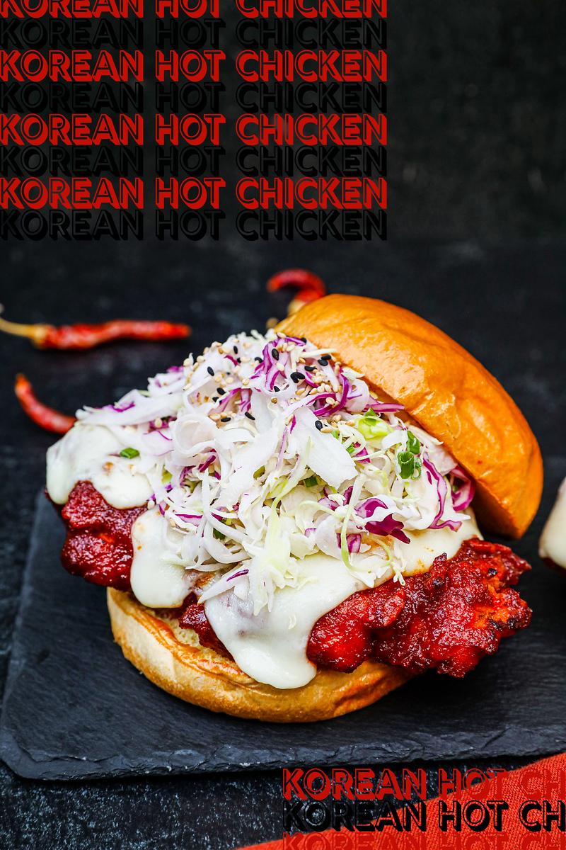 Korean Hot Chicken Recipe & Video