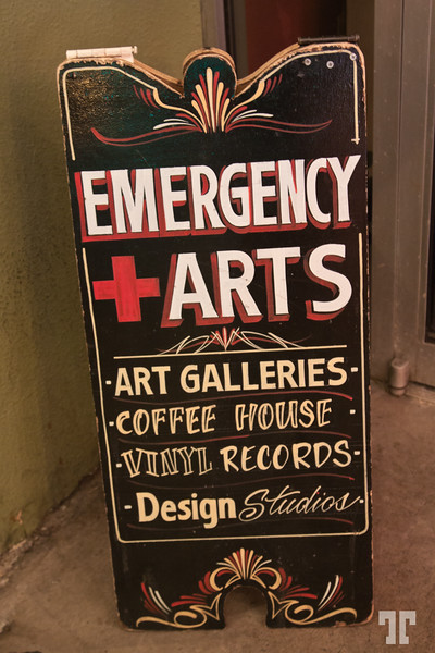 Emergency Arts cafe downtown Las Vegas