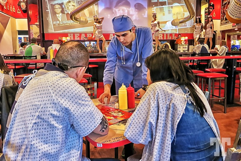 Heart Attack grill restaurant in Las Vegas
