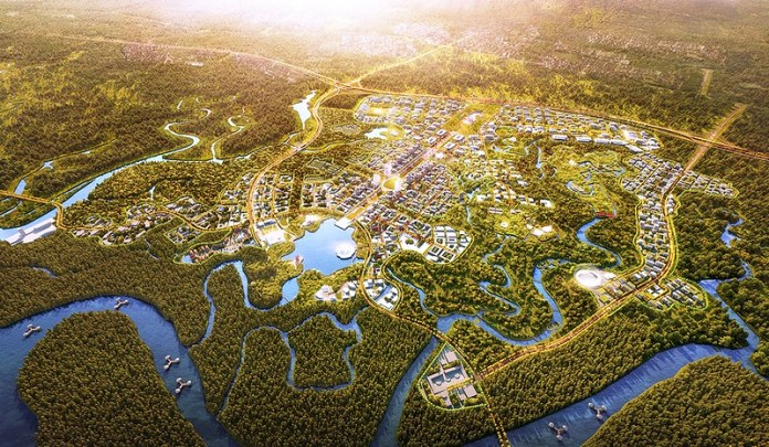 New Capital City Of Indonesia