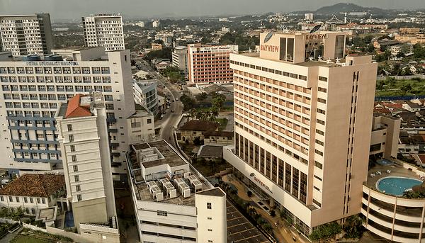 Birds Eye View of Melaka