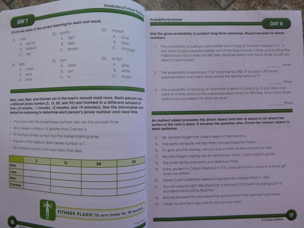 medium resolution of Math Workbooks Archives - Free Math Worksheets